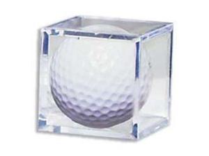 Golf Ball Acrylic Display Case Cube- Case of 6