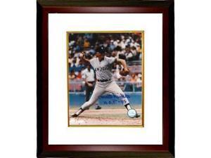 Phil Niekro signed New York Yankees 8x10 Photo Custom Framed HOF 97