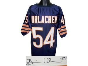Brian Urlacher signed Chicago Bears Navy Prostyle Jersey