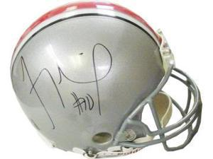 Troy Smith signed Ohio State Buckeyes Full Size Authentic Helmet- Smith Hologram