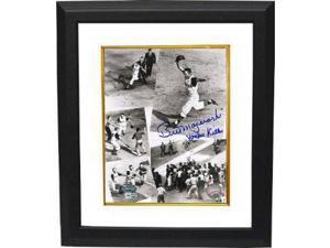 Bill Mazeroski signed Pittsburgh Pirates 8x10 Photo 1960 World Series Collage Yankee Killer Custom Framed- MLB Hologram