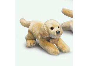 "Russ Berrie Yomiko 11"" Plush YELLOW LAB Dog"