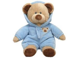 Ty Plush Pluffies Baby PJ Bear in Blue Pajamas