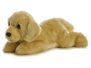 Aurora 12'' Plush GOLDIE Flopsie Golden Lab Dog