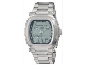 Reactor Men's Graviton Ana - Digi Tide Watch - Silver Dial