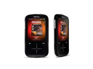 "SanDisk Sansa Fuze+ 2.4"" Black 16GB MP3 / MP4 Player SDMX20R-016GK-A57"