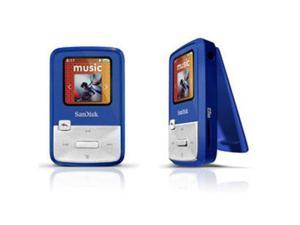 "SanDisk Sansa Clip Zip 1.1"" Blue 4GB MP3 Player SDMX22-004G-A57B"