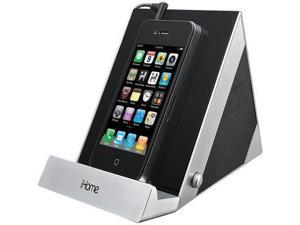 iHome iDM3SC Sleek Stereo Speaker System for iPad, iPhone, iPod or Other Audio Devices