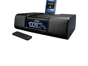 iHome App-Enhanced Stereo Dual Alarm Clock Radio for iPhone/iPod with AM/FM Presets - Black               iA9BZC