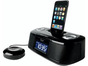 iLuv Vibro Desktop Alarm Clock with Bed Shaker for iPod                                                        iMM153BLK
