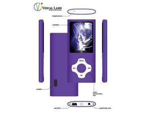 Visual Land VL6778GBPRPSSB Rave g5 8gb w/camera purple