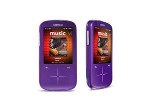 "SanDisk Sansa Fuze+ 2.4"" Purple 8GB MP3 / MP4 Player SDMX20R-008GI-A57"