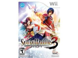 Nintendo RVLPS59E Samurai warriors 3 wii