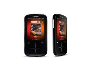 "SanDisk Sansa Fuze 2.4"" Black 4GB MP3 / MP4 Player SDMX20R-004GK-A57"