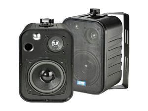 TIC ASP-25B Tic 5 40-watt 3-way outdoor patio speakers - black