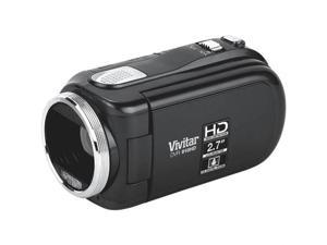 Vivitar DVR910-BLK Vivitar black vivicam dvr910 8 1mp hd digital voice recorder with 2 7 lcd