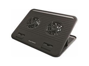 Gear Head CFS4200BLK-CP4 Gear head black 15 6 dual-cool notebook cooling stand