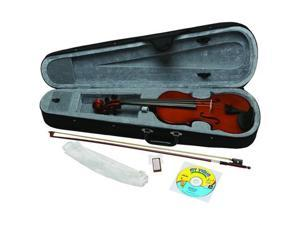Emedia Music Ev06105 My Violin Starter Pack For Kids- 1/4 Size
