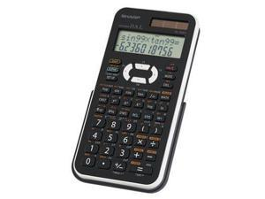 Sharp Electronics EL-506XBWH Scientific calc w 449 function