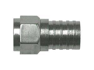EAGLE ASPEN FC-6G-B Eagle aspen fc-6g-b rg6 zinc-plated connectors, 100 pk