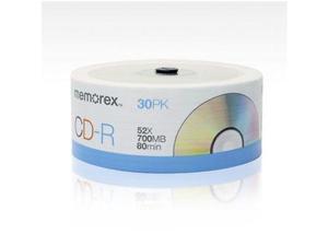 Memorex 04830 Cd-r 80 30-pack