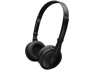 COBY CV145BLK Coby cv145blk super bass hp headphones with swivel earcups (black)