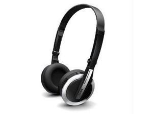 Coby CV145SVR Coby folding deep bass stereo headphones-silver