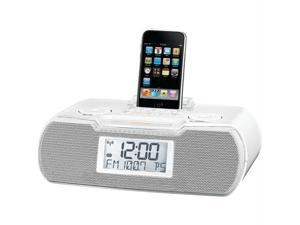 SANGEAN RCR-10WH Sangean rcr-10wh am/fm atomic clock ipod(r) docking station (white)