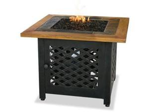 Blue Rhino GAD1391SP Lp gas firebowl w slate n wood
