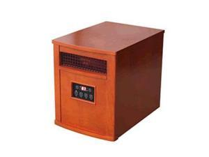 World Marketing QEH1500 Cg infrared quartz heater oak