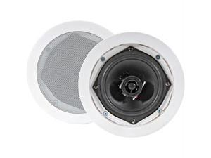 "Pyle PD-IC81RD Pyle 8"" 250-watt 2-way in-ceiling speakers"
