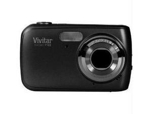 "Vivitar V7122-BLK Vivitar 7 1mp digital camera with 1 8"" preview screen-black"