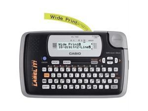 CASIO KL120L Casio kl120l 16-digit, 2-line label printer