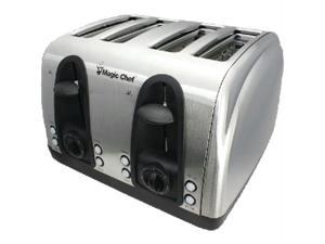 MAGIC CHEF MCST4ST Magic chef mcst4st 4-slice toaster