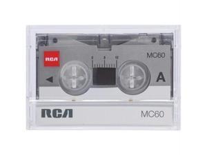 RCA RCTMC606 Rca rctmc606 m60 microcassette tapes (6 pk&#59; box)