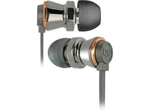 Bello BDH640BCCP Bello in-ear headphones with hard case-black chrome and copper
