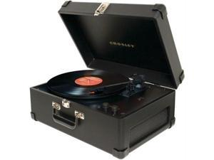 CROSLEY RADIO CR6249A-BK DELUXE KEEPSAKE USB TURNTABLE (BLACK)
