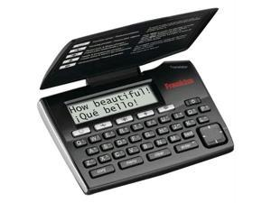 FRANKLIN TES-221 SPANISH/ENGLISH PHRASEBOOK TRANSLATOR WITH SPELL CORRECTION