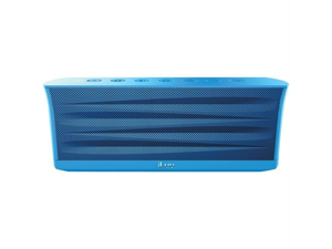 Iluv ISP233BLU Iluv isp233blu mobiout rechargeable stereo bluetooth(r) speaker with jump-start technology (blue)