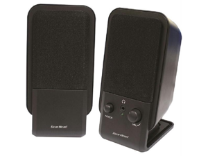 Gear Head SP2600ACB Gear head powered 2 0 desktop speaker system
