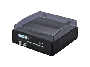 Ion IT18 Ion it18 cd direct conversion turntable with cd recorder & speakers