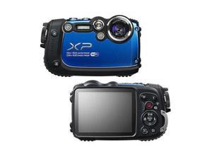 "FUJIFILM FinePix XP200 16317065 Blue 16.4 MP 3.0"" 920K Digital Camera"