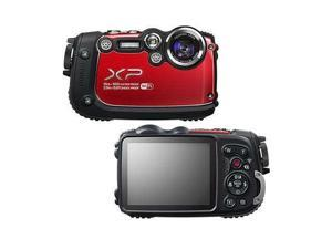 "FUJIFILM FinePix XP200 16317235 Red 16.4 MP 3.0"" 920K Digital Camera"