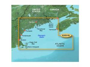 Garmin VUS510L - St. John - Cape Cod - SD Card