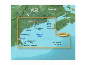 Garmin VUS510L - St. John - Cape Cod - SD Card