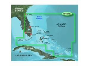 Garmin VUS013L - Jacksonville-Bahamas - SD Card