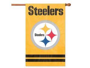 SteelersAppliqueBannerFlag YE