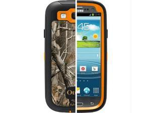 OtterBox Defender AP Blaze Orange/Black Camo All Purpose Case For Samsung Galaxy S III 77-21384