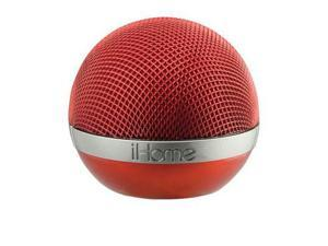 Red Portable Bluetooth Speaker