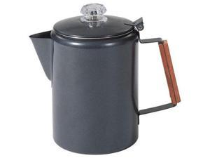 Stansport 276-9-20 Black Granite Percolator Coffee Pot - 9 Cup